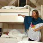 bunk beds in each cabin
