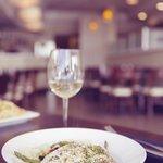 Fresh tilapia with steamed seasonal vegetables