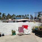 vista desde la terraza de arriba en el día (a 2 cuadras de la playa)