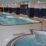 piscine interieur et spa