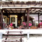 Beachside massage parlour just adjacent the resort when you step outside