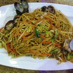 Fried Noodles with Clams