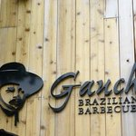 Sign above the Entrance to Gaucho Brazilian Berbeque
