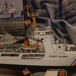 Model of Coast Guard Cutter