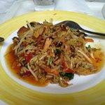 Le wok, préparé sous mes yeux... divin !