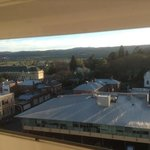 view over Launceston from my room