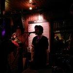 The band playing at Dillon