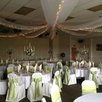 Abbey Suite ready for a Wedding.