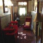 The hall of the Bordello Suite