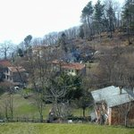 Vista del piccolo borgo montano