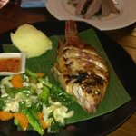 Barbecue Red Snapper