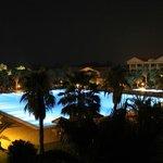 Hotel Garden by Night
