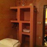 Chambre de l'arbre: cama individual