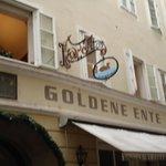 Goldene Ente Foto