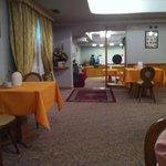 Sala colazione a buffet, molto in!