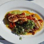 Awesome sea scallops