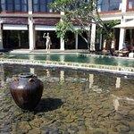 huge pool in kokokan Villa