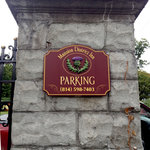 MDI off-street parking is in the gated rear of the grounds