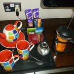 Coffe and tea facillities