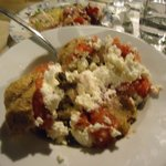 dAkos (Rusk covered with olive oil, tomato, feta cheese etc)