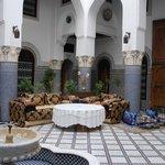 Riad main room