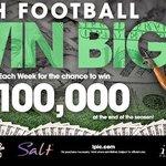 Watch football -- WIN BIG!