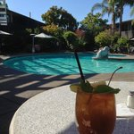 Mai tai by the pool