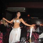 One of the belly dancers