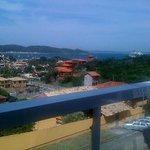 Vista desde el balcon.