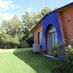 Salón para eventos con acceso a las áreas verdes