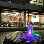 Outdoor Courtyard view of Chillz Restaurant