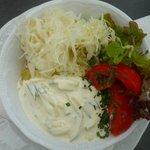 Gemischter saisonaler Salat