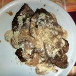 scaloppine all'aceto balsamico e gorgonzola