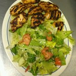 Shish Tawook with Rice & House Salad
