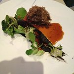 Beef, broccoli, smoked marrow & summer truffle
