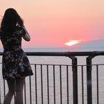 September sun set