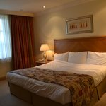 bedroom - the huge bed!