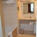 Shower & Bathroom area