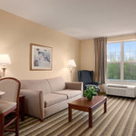 Two room suite with1 King bed nonsmoking