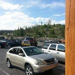 Gateyway Inn Parking Lot View