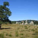 Grange d' Emilie dans le paysage de Margeride