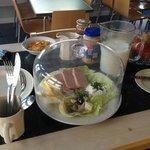Hostel breakfast!!