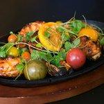 Delicious roasted cayenne shrimp