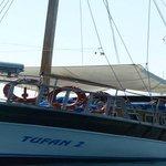 tufan boat adalar turu(island tour)