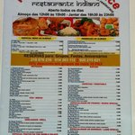 we do have every kind of indian food that you want,