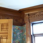 woodwork from dining room