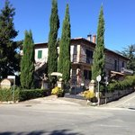 Front view of agriturismo