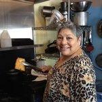 Fabulous cook & owner, Lydia Torrez
