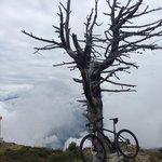 mountainbiken op de Penken