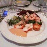 Starter: Lobster & Prawns